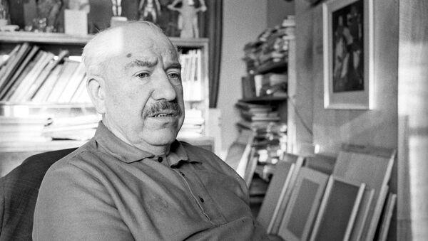 El pintor Aleksandr Deineka (archivo) - Sputnik Mundo