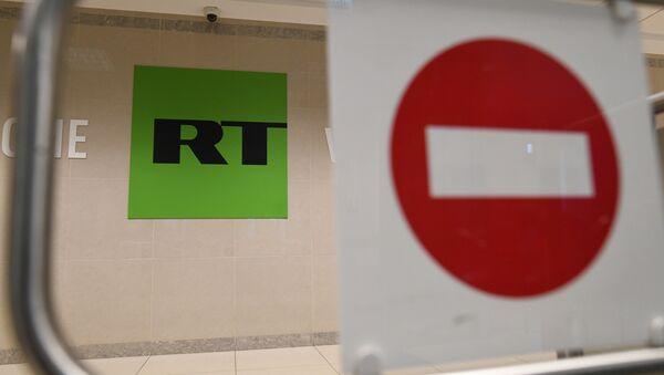 La oficina del canal RT en Moscú - Sputnik Mundo