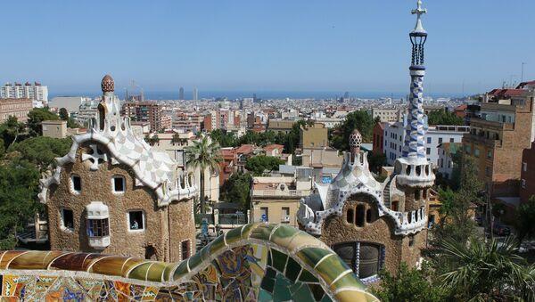 Park Güell, Barcelona, Cataluña - Sputnik Mundo