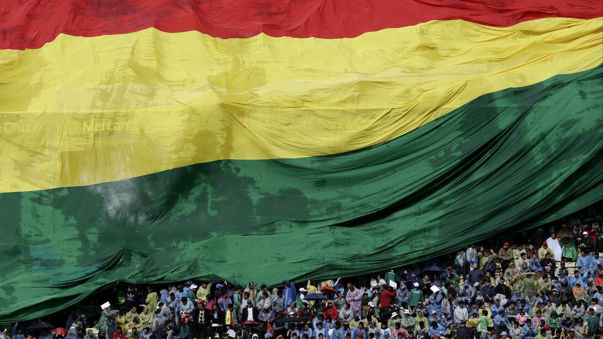 Bandera de Bolivia - Sputnik Mundo, 1920, 08.10.2021