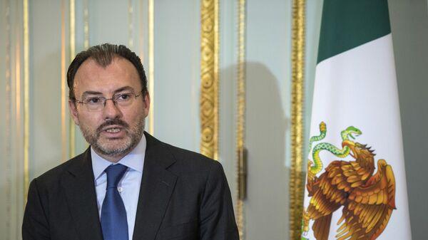 El canciller de México, Luis Videgaray - Sputnik Mundo