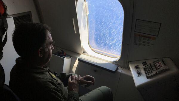 Miembro de la Armada de Argentina participa en la búsqueda del ARA San Juan - Sputnik Mundo