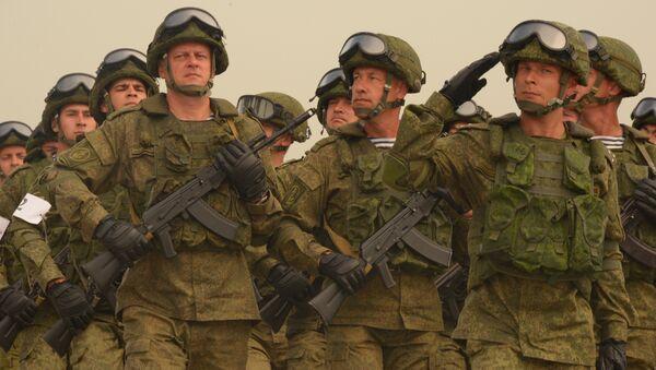 Soldados rusos, foto de archivo - Sputnik Mundo