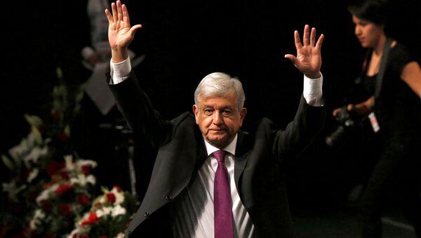 Andrés Manuel López Obrador, aspirante a la presidencia de México (archivo) - Sputnik Mundo