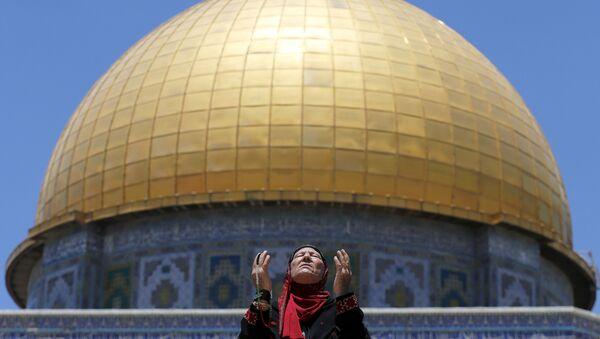 Domo de la Roca en la Explanada de las Mezquitas, Jerusalén - Sputnik Mundo