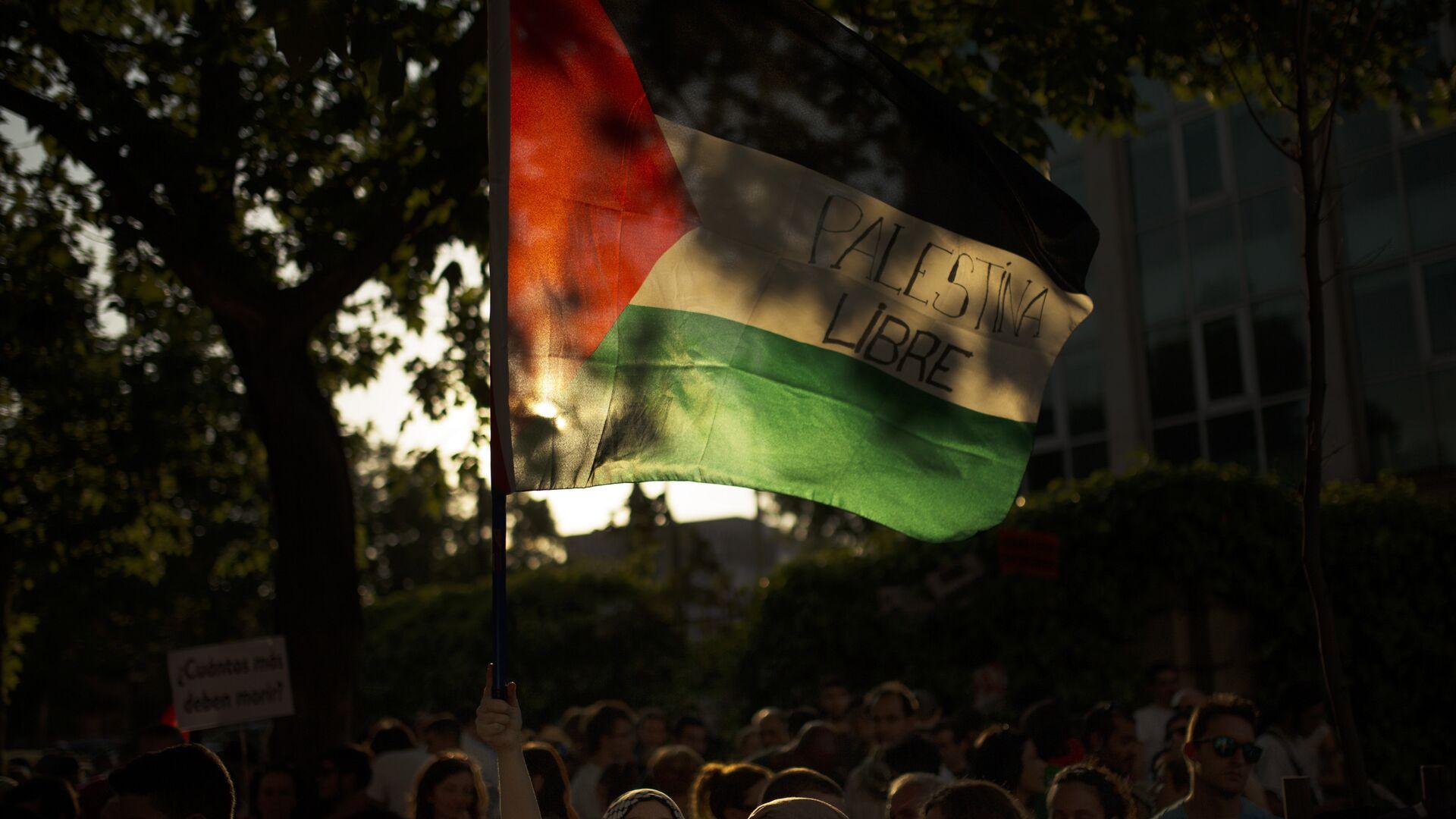 La bandera de Palestina - Sputnik Mundo, 1920, 05.02.2021