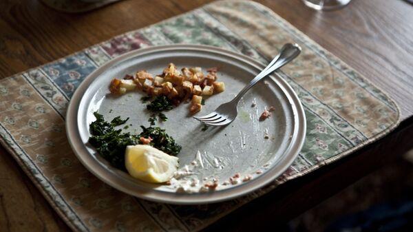 Los restos de comida (imagen referencial) - Sputnik Mundo