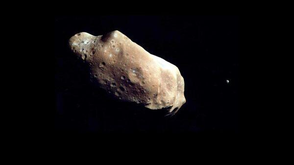 Un asteroide (imagen referencial) - Sputnik Mundo