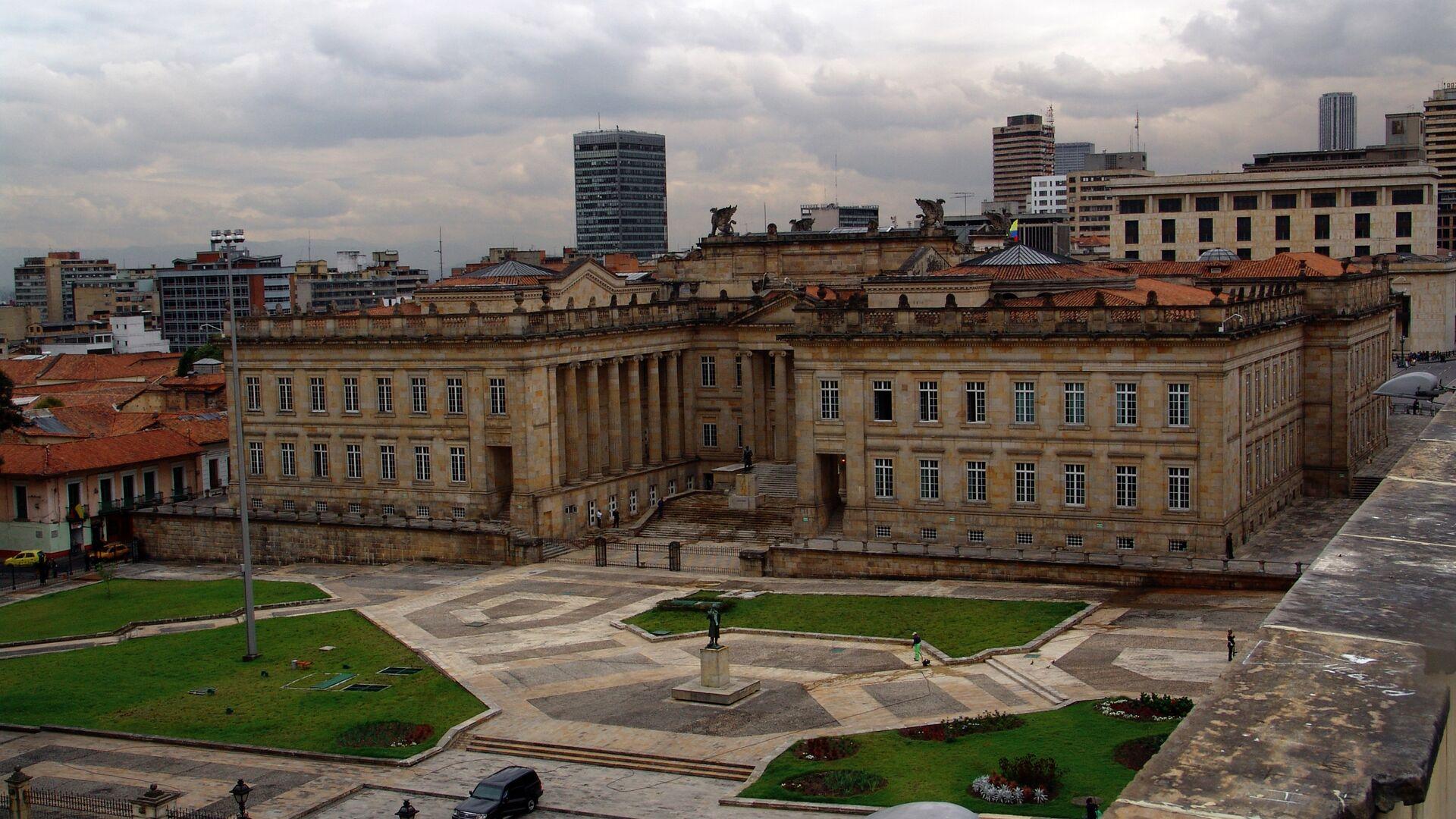 Congreso de la República de Colombia - Sputnik Mundo, 1920, 06.10.2021