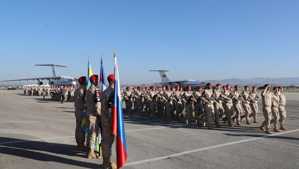 Policía militar de Rusia en Siria - Sputnik Mundo