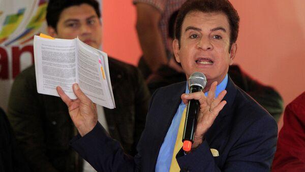 Salvador Nasralla, candidato a la presidencia de Honduras (archivo) - Sputnik Mundo