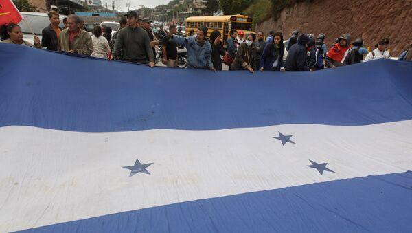 Movilización de oposición en Honduras (Archivo) - Sputnik Mundo