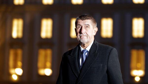Andrej Babis, nuevo primer ministro de la República Checa - Sputnik Mundo