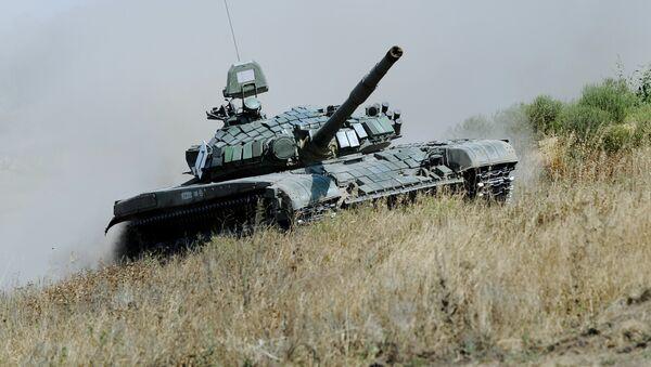 El tanque ruso T-72 B1 - Sputnik Mundo