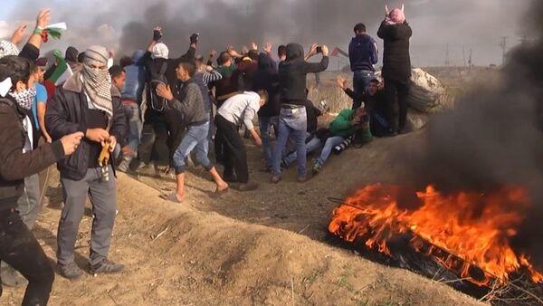 Continúan severos enfrentamientos tras la decisión sobre Jerusalén - Sputnik Mundo