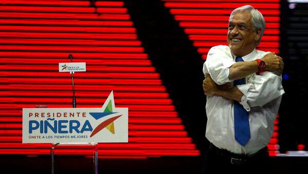 Sebastián Piñera, candidato presidencial y expresidente chileno (archivo) - Sputnik Mundo