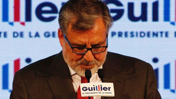 Alejandro Guillier, excandidato a la presidencia de Chile - Sputnik Mundo