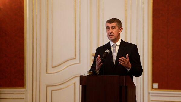 Andrej Babis, primer ministro de Chequia - Sputnik Mundo