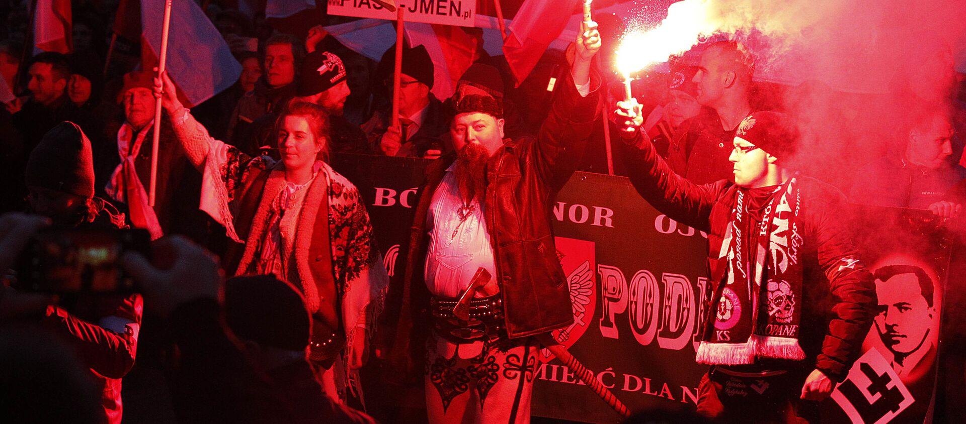 Nacionalistas polacos - Sputnik Mundo, 1920, 20.12.2017