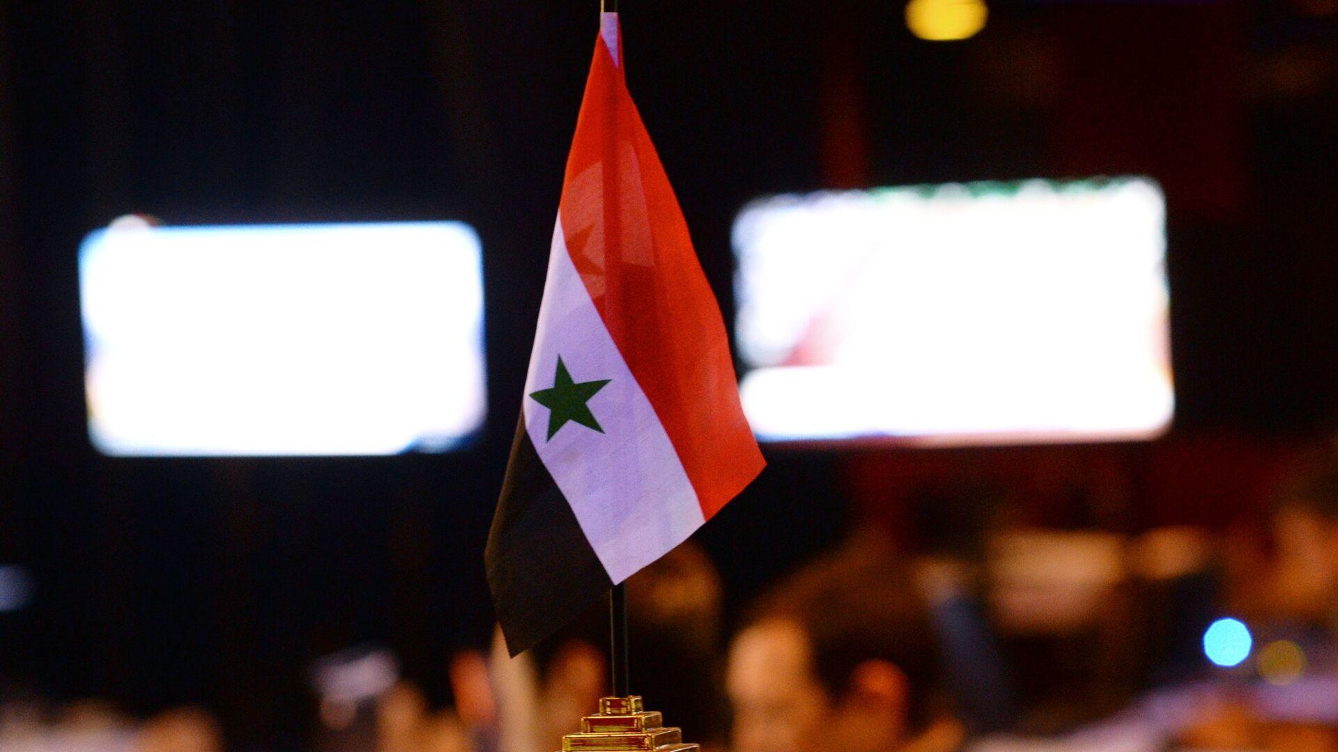 Bandera de Siria - Sputnik Mundo, 1920, 23.09.2021