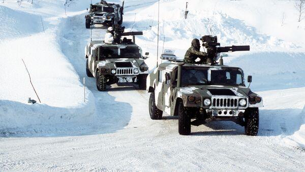 Cuerpo de Infantería de Marina de EEUU en Noruega (archivo) - Sputnik Mundo