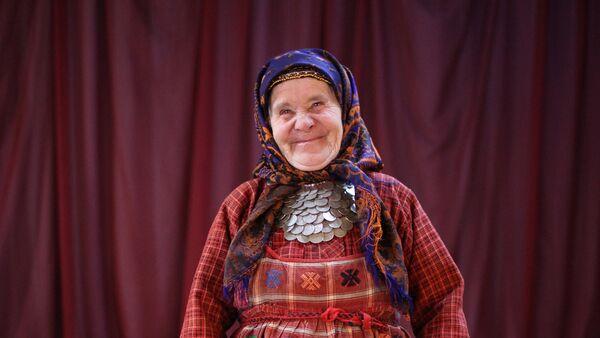 Natalia Pugachiova, del grupo musical Buránovskie Bábushki - Sputnik Mundo