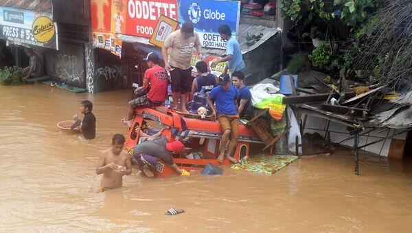 Inundaciones en Filipinas - Sputnik Mundo