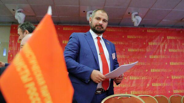Maxim Suraikin, el presidente del partido Comunistas de Rusia - Sputnik Mundo