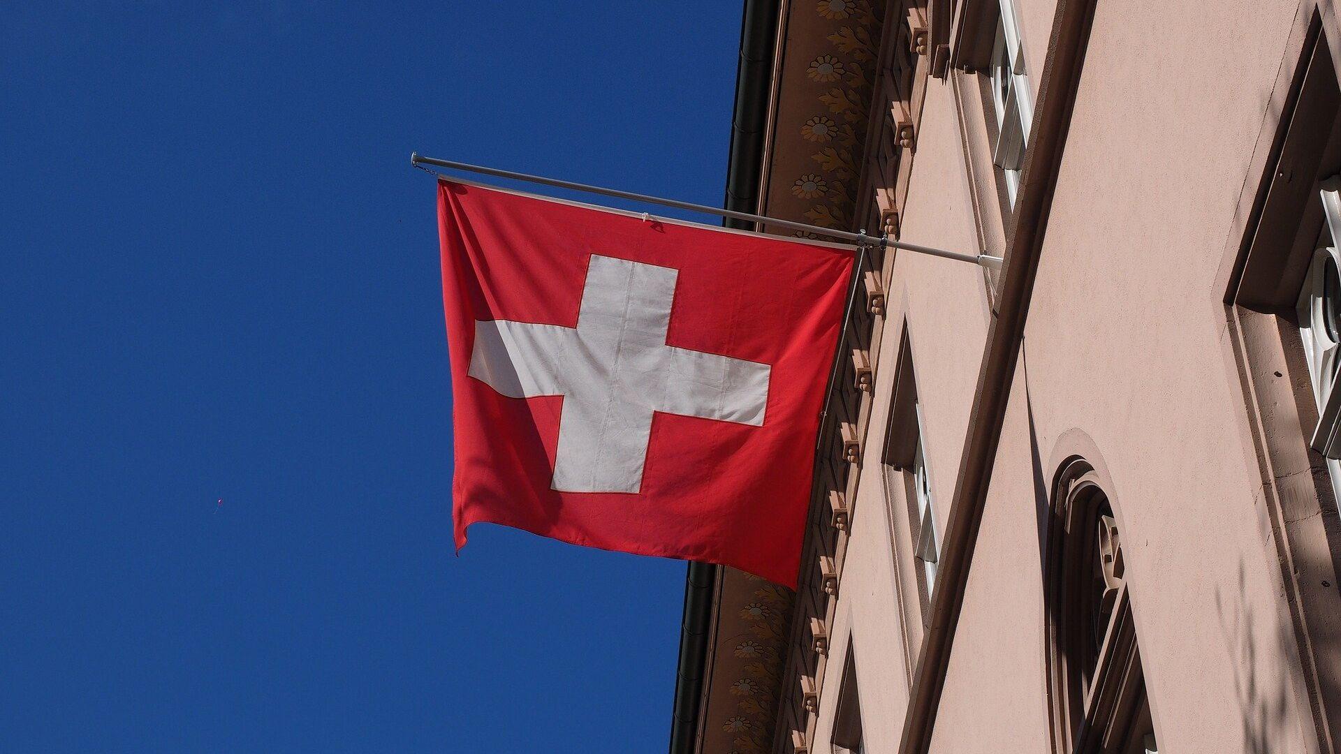 Bandera de Suiza - Sputnik Mundo, 1920, 05.10.2021