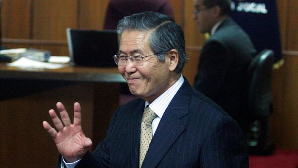 Alberto Fujimori, expresidente de Perú (archivo) - Sputnik Mundo
