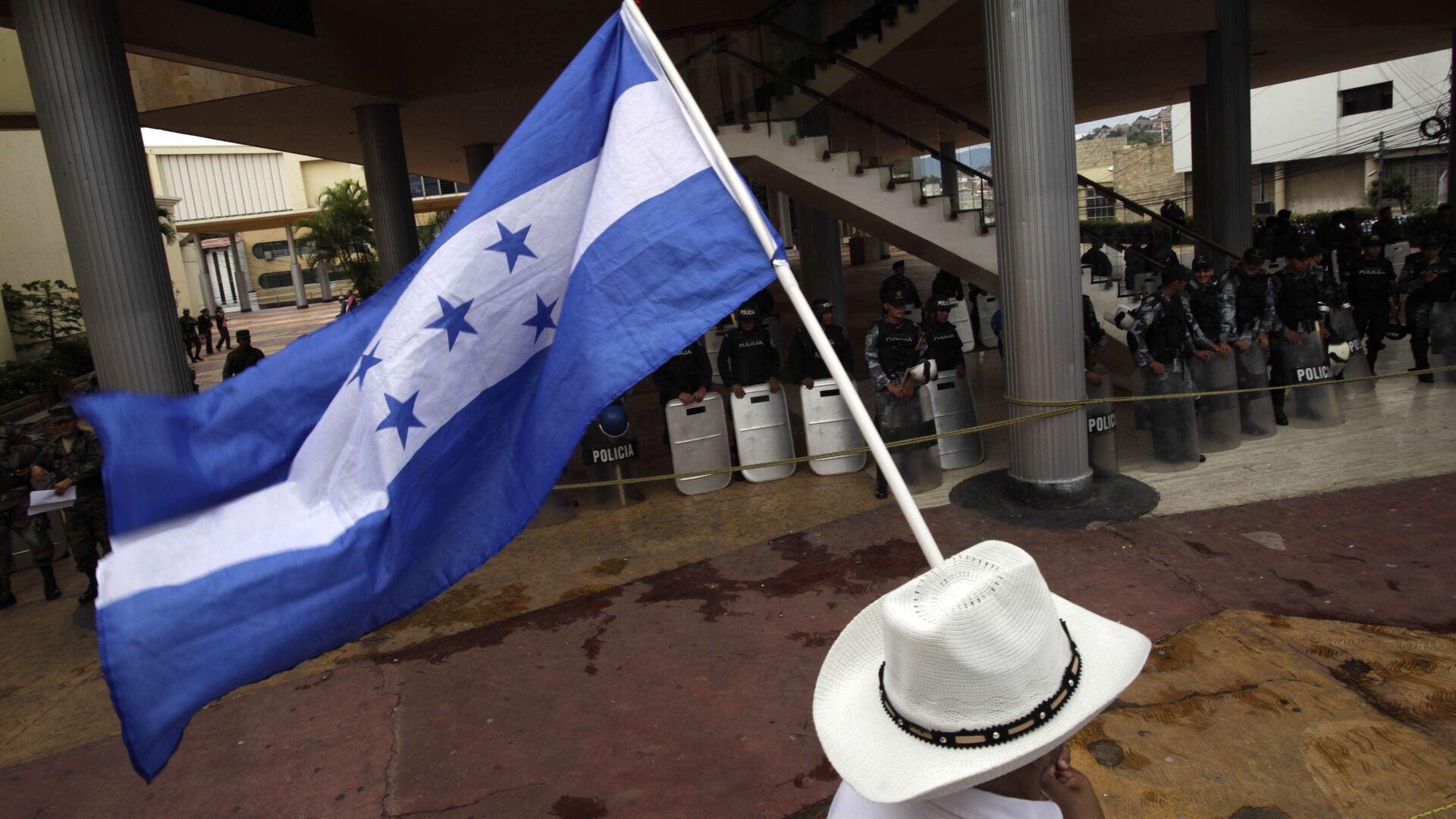 Bandera de Honduras - Sputnik Mundo, 1920, 09.03.2021