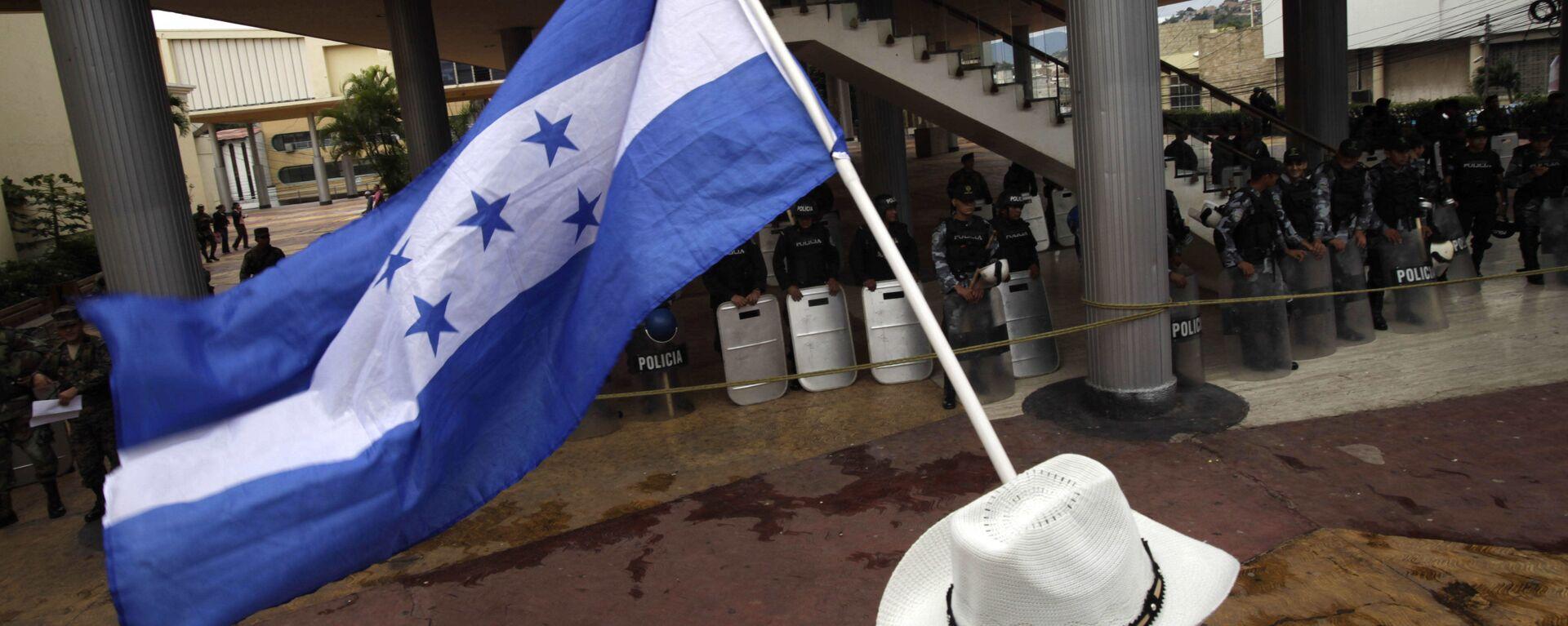 Bandera de Honduras - Sputnik Mundo, 1920, 06.10.2021