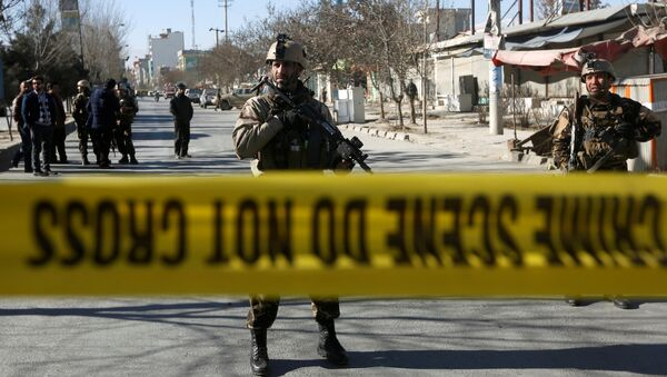 Lugar de la explosión en Kabul (archivo) - Sputnik Mundo