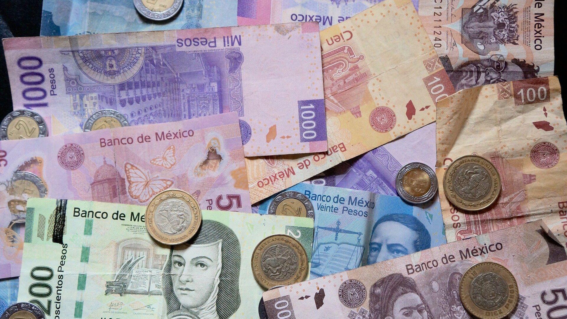 Pesos mexicanos (imagen referencial) - Sputnik Mundo, 1920, 24.08.2021
