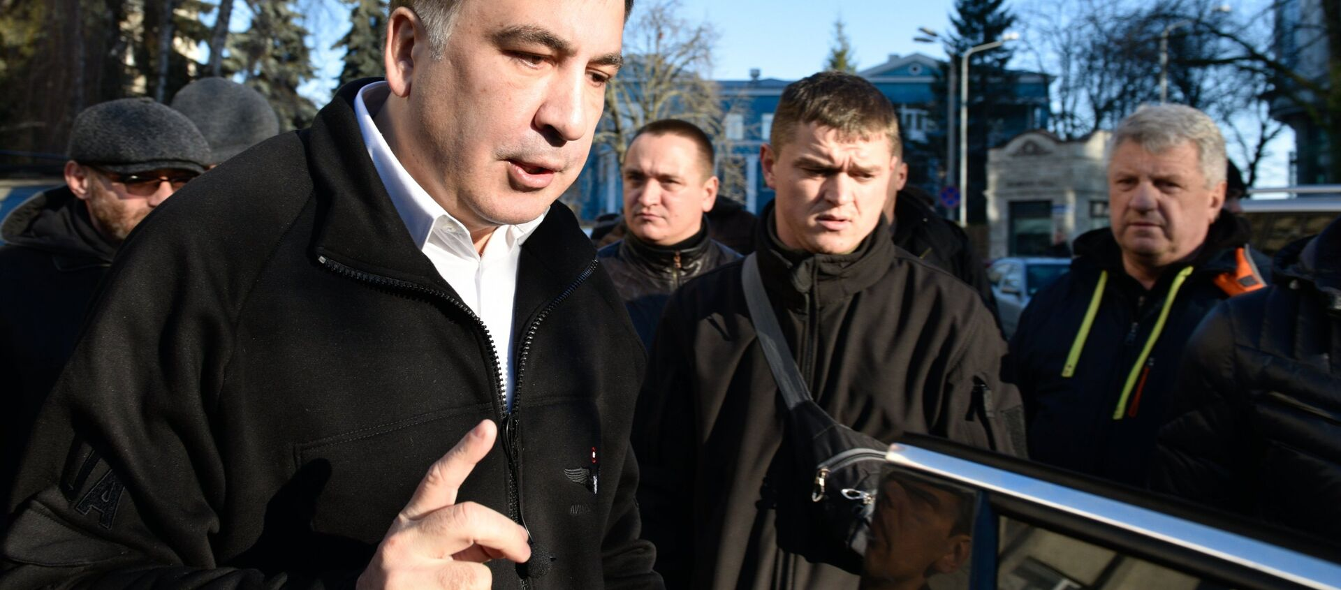 Mijaíl Saakashvili, expresidente de Georgia - Sputnik Mundo, 1920, 17.10.2018