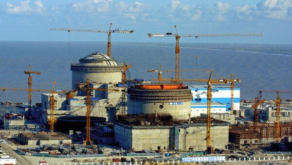 La construcción de la planta nuclear de Tianwan - Sputnik Mundo