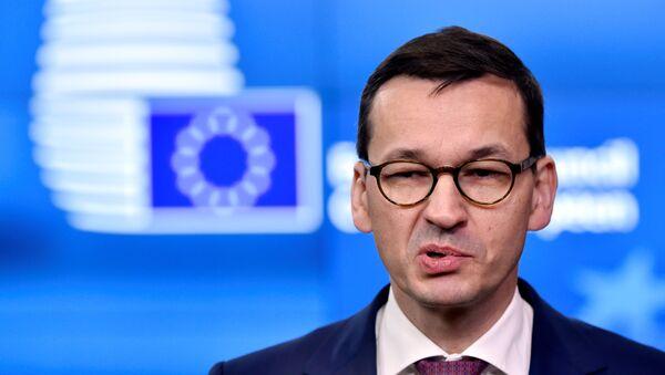 Mateusz Morawiecki, primer ministro de Polonia - Sputnik Mundo
