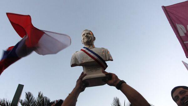 Los seguidores del presidente electo de Chile, Sebastián Piñera - Sputnik Mundo
