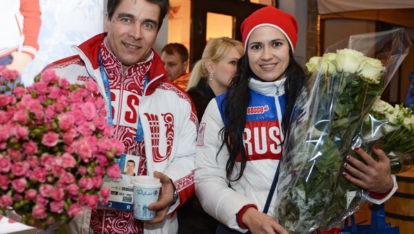 Albert Demchenko y Tatiana Ivanova, deportistas rusos - Sputnik Mundo