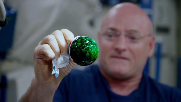 Un experimento de la NASA con tabletas efervescentes - Sputnik Mundo