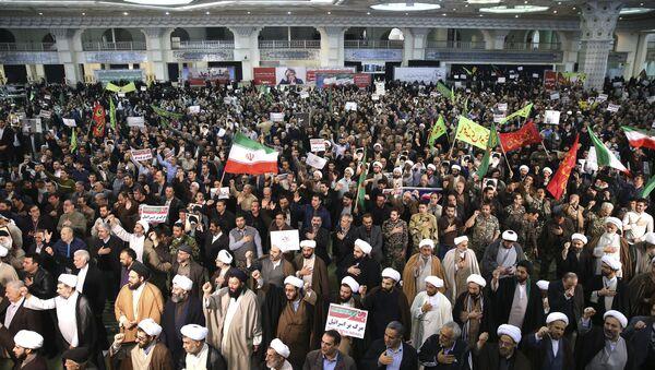 Las protestas en Irán (archivo) - Sputnik Mundo