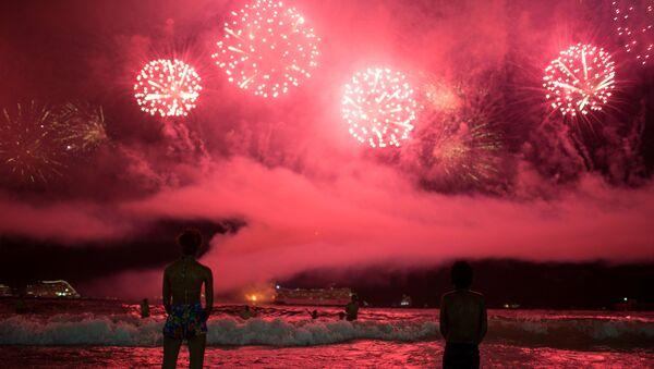 Fiesta de fin de año en Río de Janeiro, Brasil - Sputnik Mundo