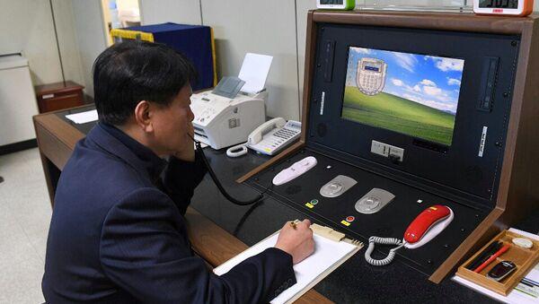 Línea telefónica directa entre Seúl y Pyongyang - Sputnik Mundo