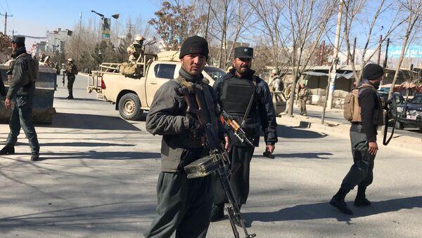 Policía en Kabul (archivo) - Sputnik Mundo