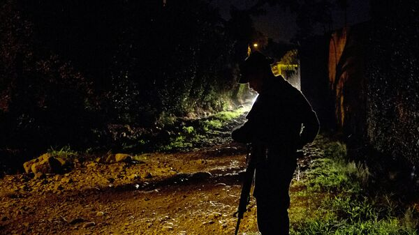 Un policía colombiano, imagen de archivo - Sputnik Mundo