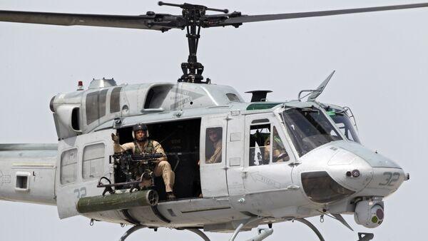 Un helicóptero estadounidense (archivo) - Sputnik Mundo