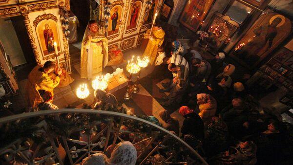 Celebración de la Navidad en Rusia - Sputnik Mundo