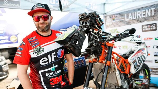 El piloto leyenda del Rally Dakar Laurent Lazard - Sputnik Mundo