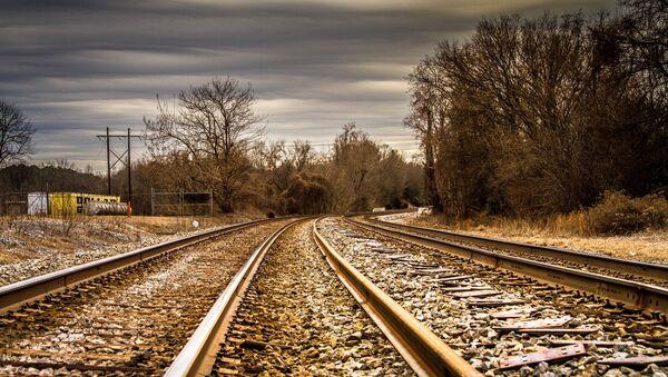 Rieles de tren (imagen referencial) - Sputnik Mundo