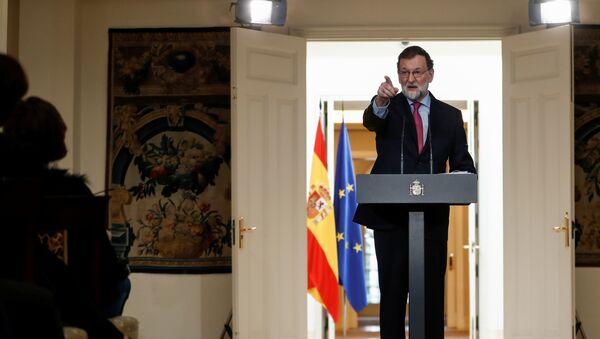 Mariano Rajoy, el presidente del Gobierno español - Sputnik Mundo